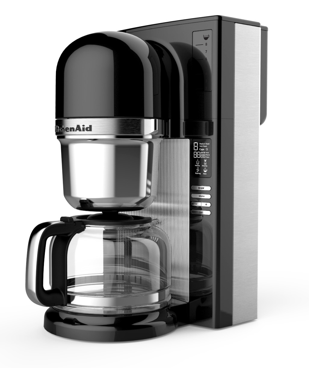 Kitchenaid Coffee Maker How To Use : NEW KITCHENAID COFFEE MAKER BRINGS THE BARISTA HOME GET ...